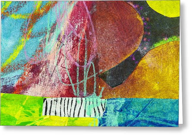 Puzzle Mixed Media Greeting Cards - Puzzle 4 Greeting Card by Elena Nosyreva