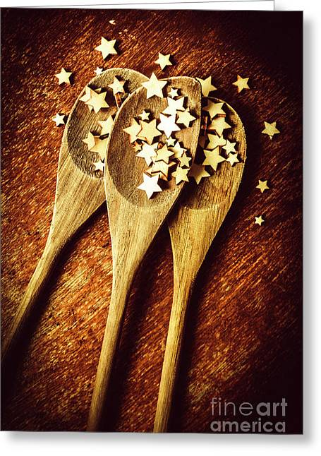 Quality Dish Review In The Baking Greeting Card by Jorgo Photography - Wall Art Gallery