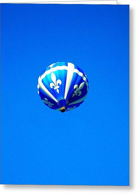 Helium Greeting Cards - Quebec ... Greeting Card by Juergen Weiss