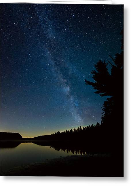 Constellations Greeting Cards - Quebec Milky Way Greeting Card by James Wheeler