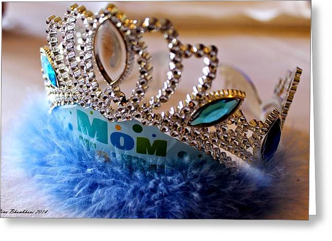 Forever Young Greeting Cards - Queen Mom  Greeting Card by Forever Young