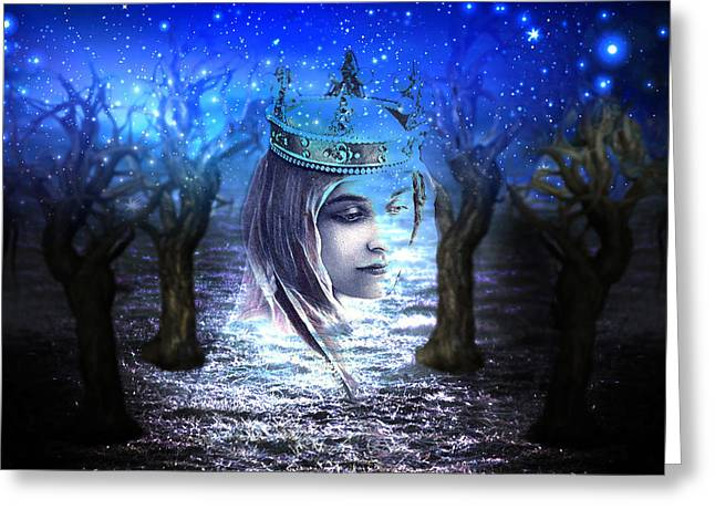 Queen Of Air And Darkness Greeting Card by Lisa Yount