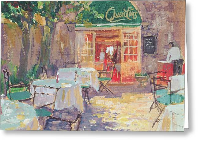 Quentins Greeting Card by William Ireland