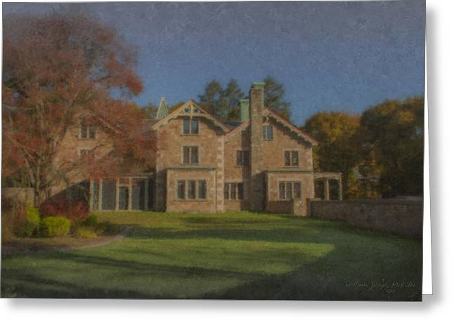 Quest House Garden Greeting Card by Bill McEntee