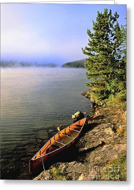 Canadian Wilderness Greeting Cards - Quetico Greeting Card by Chris  Brewington Photography LLC