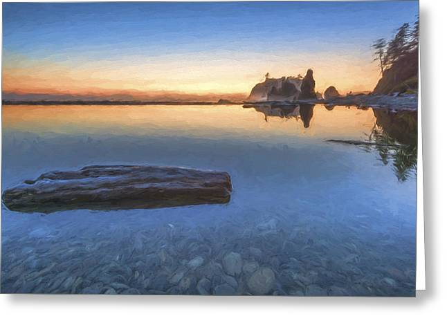 Quiet, Alone And Still II Greeting Card by Jon Glaser