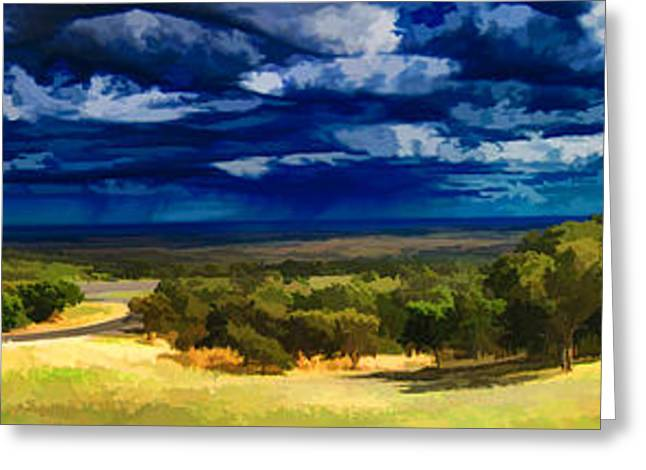 Raining Greeting Cards - Quiet before the Storm Greeting Card by Douglas Barnard