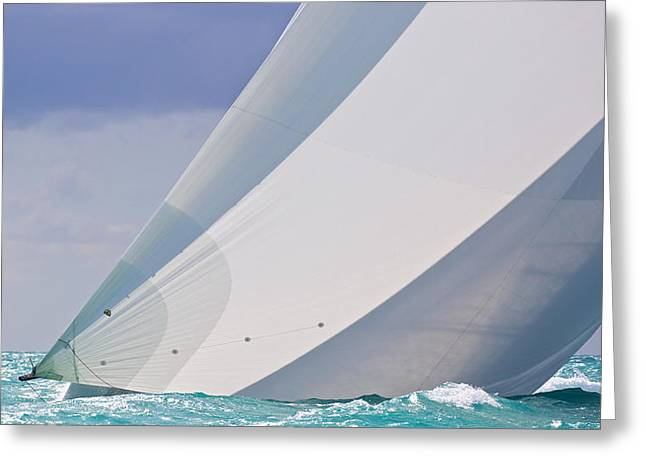 Exciting Surf Greeting Cards - Quiet Drama Greeting Card by Steven Lapkin