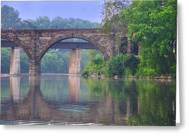 Quiet River Greeting Card by Bill Cannon