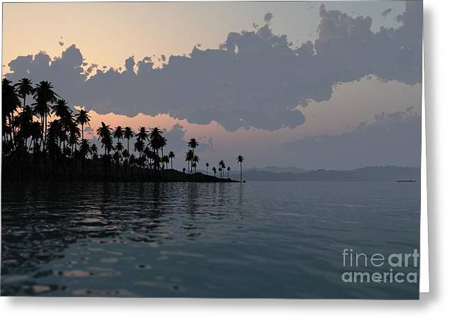 Sunrise Sculptures Greeting Cards - Quiet Sunrise Greeting Card by Dave Luebbert