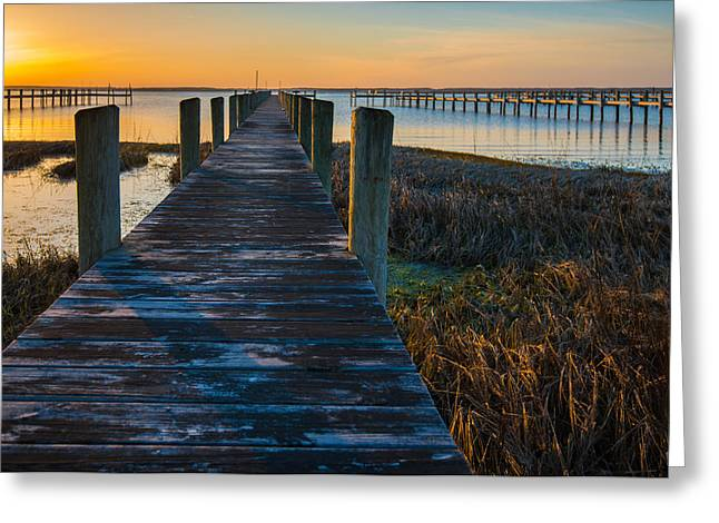 Sunset Prints Greeting Cards - Quiet Time II Greeting Card by Steven Ainsworth