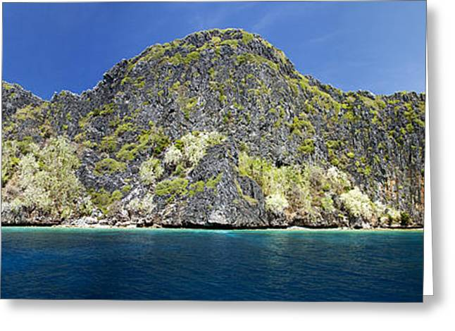 Dave Greeting Cards - Quiminatin Island Greeting Card by Dave Fleetham - Printscapes