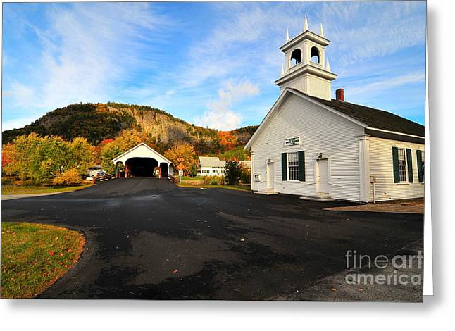 Quintessential New England Greeting Card by Catherine Reusch  Daley
