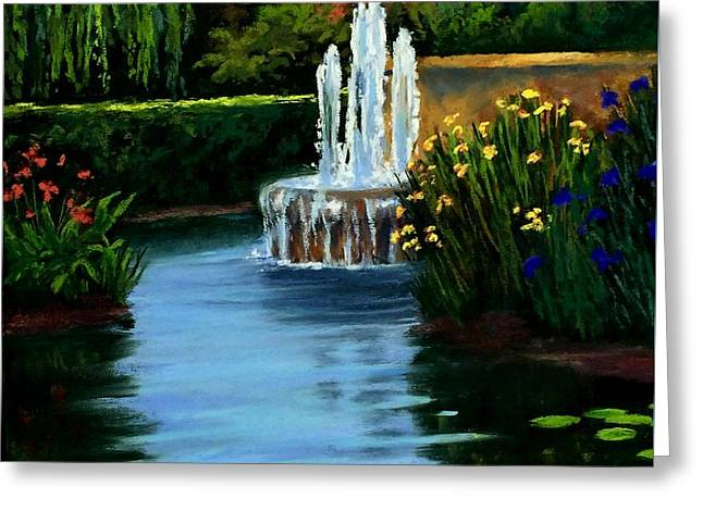 Willow Lake Greeting Cards - Quite reflections Greeting Card by Candice Ferguson