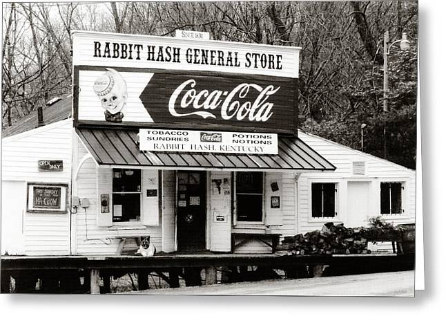Rabbit Hash General Store- Photogaphy By Linda Woods Greeting Card by Linda Woods