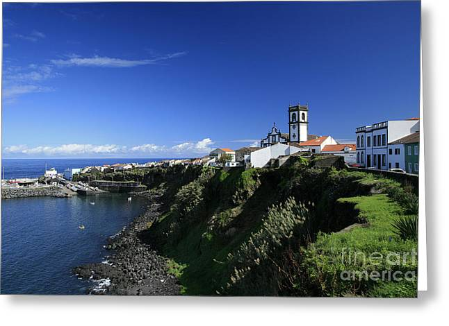 Azores Greeting Cards - Rabo de Peixe Greeting Card by Gaspar Avila