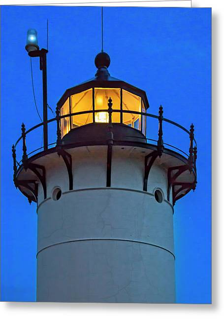 Race Point Lighthouse New England Greeting Card by Susan Candelario