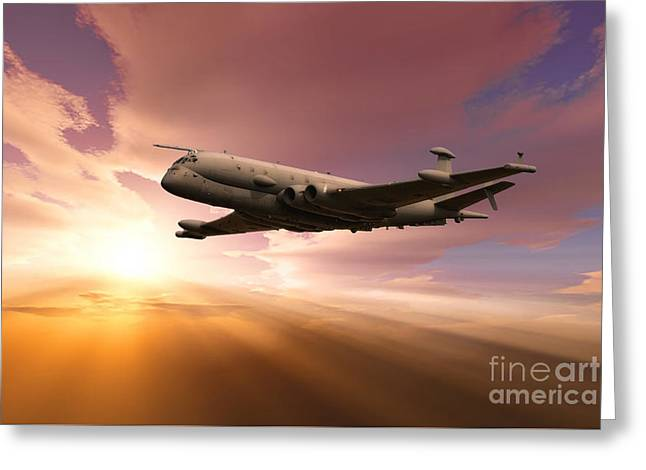Raf Nimrod Greeting Card by Stephen Smith