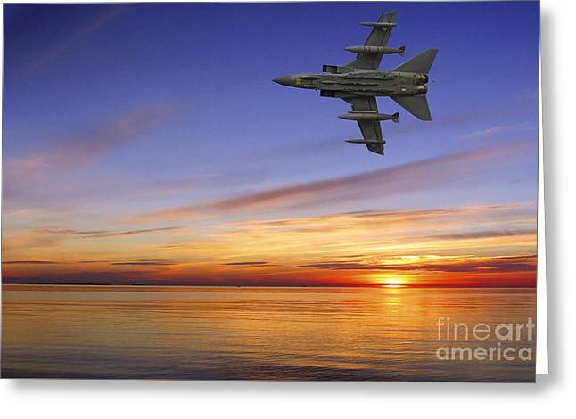 Raf Tornado Gr4 Greeting Card by Stephen Smith