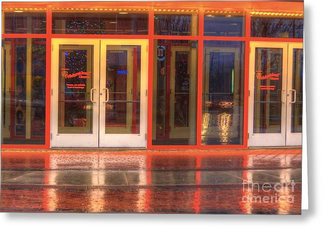 Gainesville Greeting Cards - Rain and Reflection-2 Greeting Card by Robert Pearson