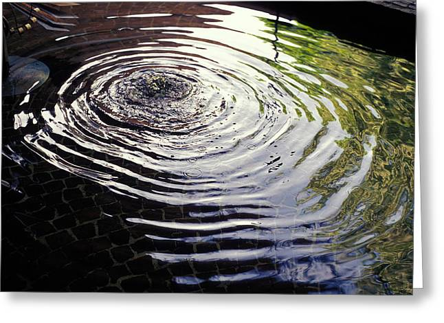 Rain Barrel Photographs Greeting Cards - Rain Barrel Greeting Card by Carl Purcell