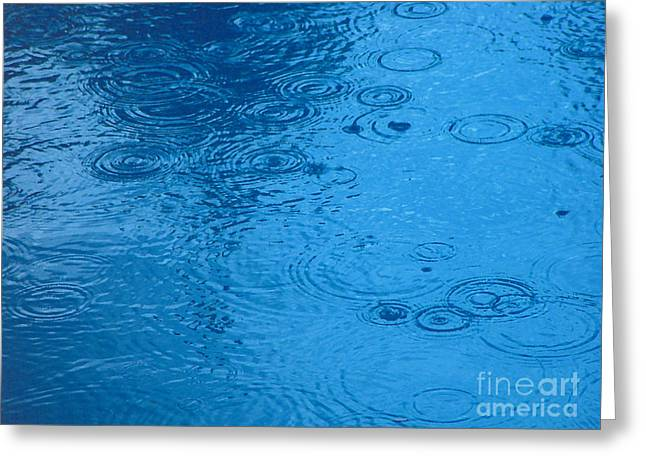 Purchase Greeting Cards - Rain Droplets Greeting Card by R Muirhead Art