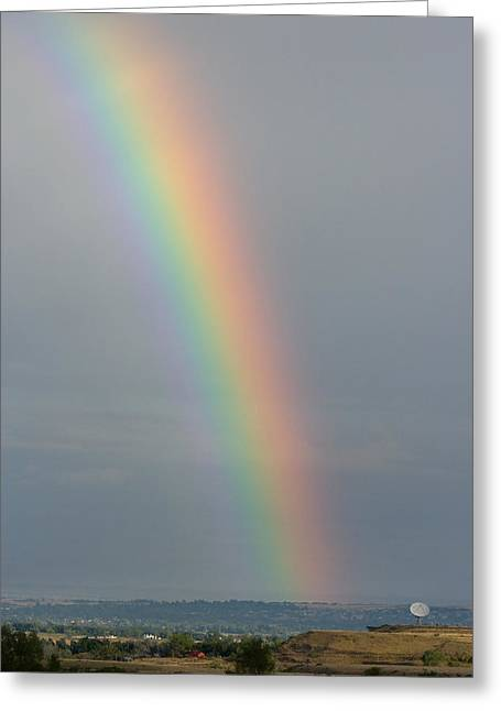 Striking Images Greeting Cards - Rainbow Communications Greeting Card by James BO  Insogna