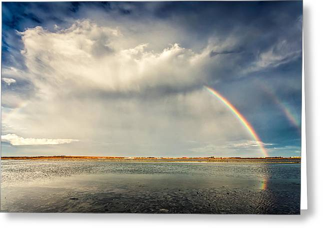 Rainbow Greeting Card by Evgeni Dinev