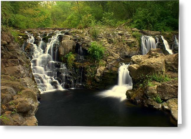 Marty Koch Greeting Cards - Rainbow Falls  2 Greeting Card by Marty Koch