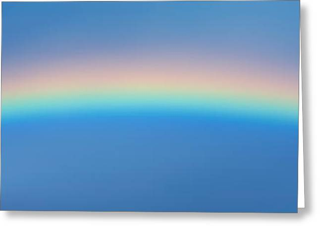 Rainbow In The Sky Greeting Card by Panoramic Images