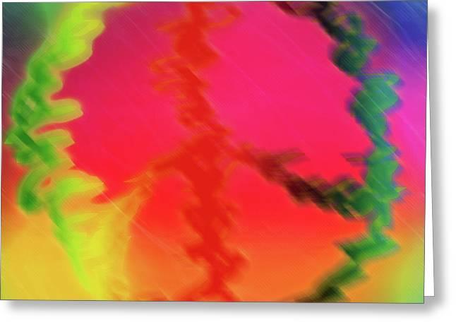 Rainbow Peace Greeting Card by Adam LeCroy