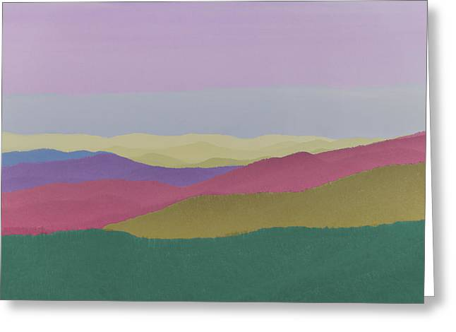 Rainbow Ridge Mountains Greeting Card by Dennis Smith