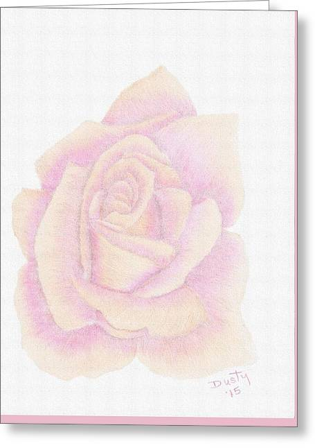 Botanical Greeting Cards - Rainbow Sherbet Greeting Card by Dusty Reed