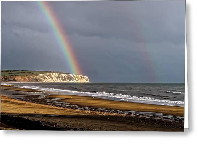Rainbows End Greeting Card by Martin Wall