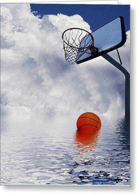 Rained Out Game Greeting Card by Gravityx9   Designs