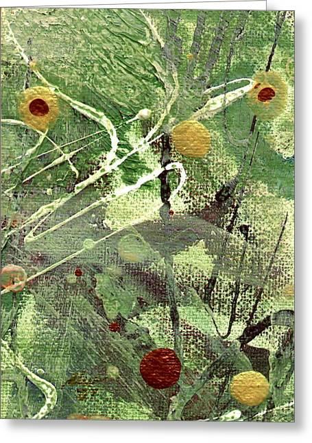 Survivor Art Greeting Cards - Rainforest Greeting Card by Angela L Walker