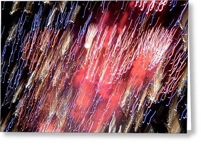 Independance Greeting Cards - Raining Light Greeting Card by Richard Jenkins