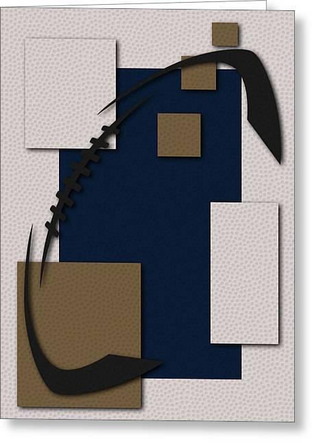 Ram Greeting Cards - Rams Football Art Greeting Card by Joe Hamilton