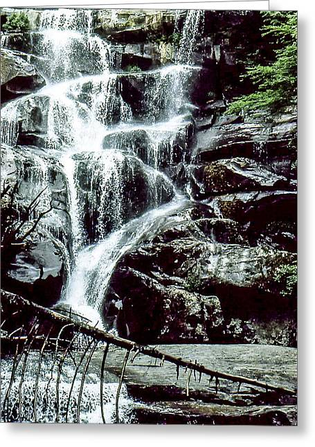 Tennessee River Greeting Cards - Ramsey Cascades Greeting Card by Norman Johnson