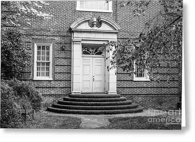Occasion Greeting Cards - Randolph College Doorway Greeting Card by University Icons
