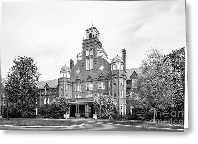 Randolph College Main Hall Greeting Card by University Icons