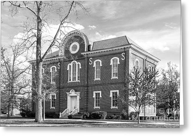 Randolph- Macon College Franklin Hall Greeting Card by University Icons