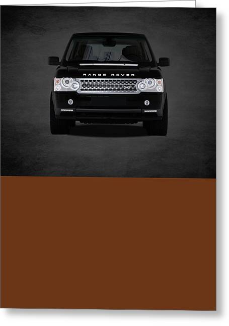 Range Rover Greeting Card by Mark Rogan
