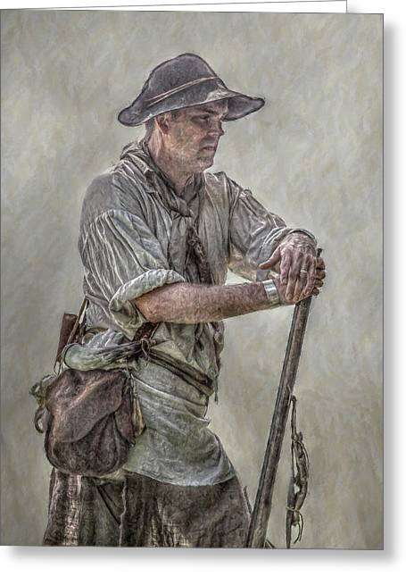 Citizens Greeting Cards - Ranger Scout Portrait   Greeting Card by Randy Steele