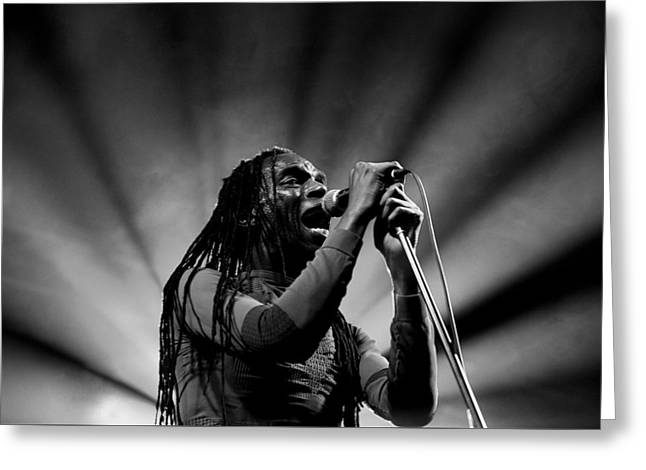 Ranking Roger Greeting Card by Andrew Bellis