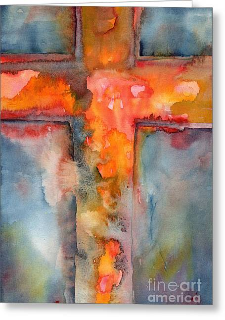 Lent Greeting Cards - Ransomed Greeting Card by Ruth Borges