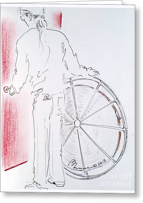 Valuable Drawings Greeting Cards - Rare Classic Greeting Card by Barbara Chase