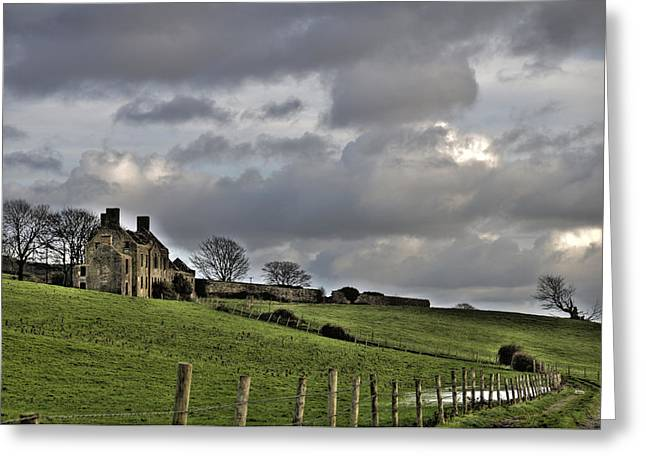 Old House Photographs Greeting Cards - Rathfran House Greeting Card by Marion Galt