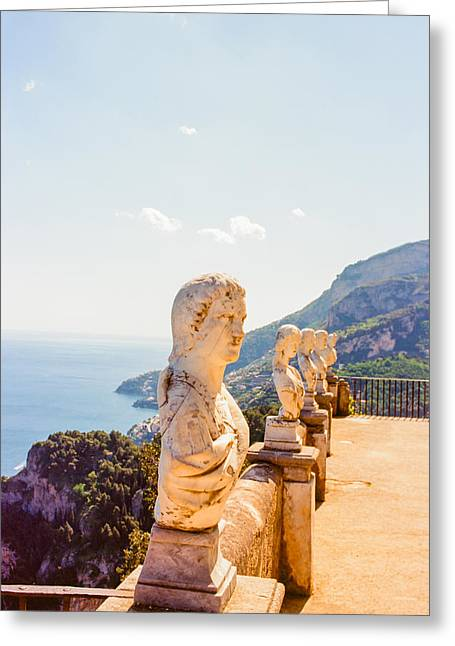 Ravello Amalfi Coast Italy Greeting Card by Ariane Moshayedi