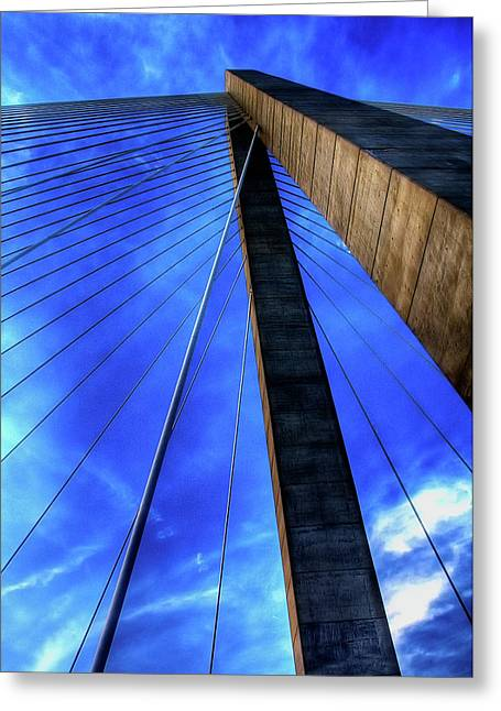 Arthur Greeting Cards - Ravenel Sky Greeting Card by Drew Castelhano